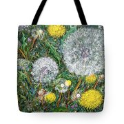 Lions Of The Garden Tote Bag
