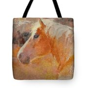 Lipizzian Horse Tote Bag