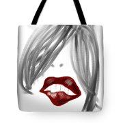 Lips Too Tote Bag