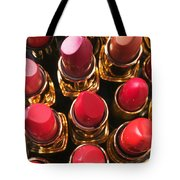 Lipstick Rows Tote Bag