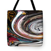 Liquefied Graffiti Tote Bag