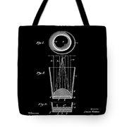 Liquershot Glass Patent 1925 Black Tote Bag