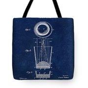 Liquershot Glass Patent 1925 Blue Tote Bag