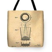 Liquershot Glass Patent 1925 Sepia Tote Bag