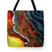 Liquid Abstract Fifteen Tote Bag