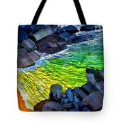 Liquid Abstract Eleven Tote Bag