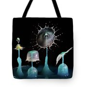 Liquid Art Composite Tote Bag