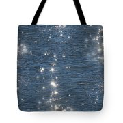 Liquid Diamonds Tote Bag