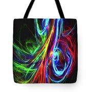 Liquid Neon Tote Bag