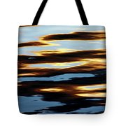 Liquid Setting Sun Tote Bag