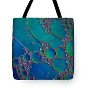 Liquid Turquoise River Stone  Tote Bag