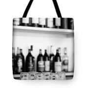 Liquor Bottles Tote Bag
