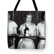 Liquor Is Served - Prohibition Ends 1933 Tote Bag