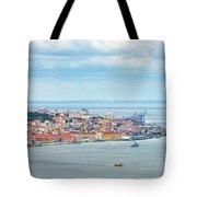 Lisbon 10 Tote Bag