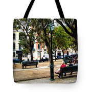 Lisbon High Park Tote Bag