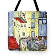 Lisbon Home Painting Tote Bag