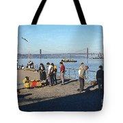 Lisbon Pier 4 Tote Bag