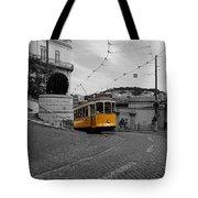Lisbon Trolley 10c Tote Bag