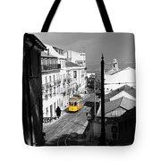 Lisbon Trolley 17c Tote Bag