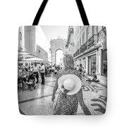 Lisbon Woman Lifestyle Tote Bag