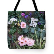 Lisianthus Medley Tote Bag