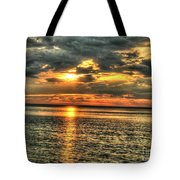 L.i.sound Sunset Tote Bag