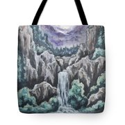 Listen To The Echoes II Tote Bag