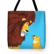 Listen To The Lion Tote Bag