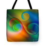 Listen To The Sound Of Colors -2- Tote Bag by Issabild -