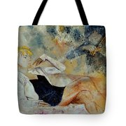 Listening To The Violin Tote Bag