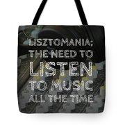 Lisztomania Tote Bag
