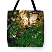 Lit Lamplight Tote Bag