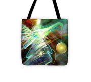 Lite Brought Forth By The Archkeeper Tote Bag