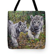 Little And Brave  Tote Bag