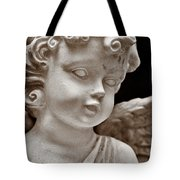 Little Angel - Sepia Tote Bag