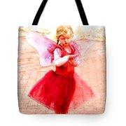 Little Angel Wings Tote Bag
