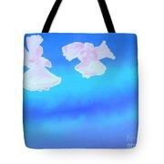 Little Angels Watching Over Me Tote Bag
