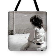 Little Baseball Brother Tote Bag