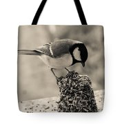 Little Bird Feeding Tote Bag