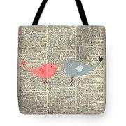 Little Birds Love Tote Bag