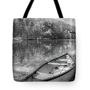 Little Bit Of Heaven Black And White Panorama Tote Bag