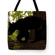 Little Black Bear Tote Bag