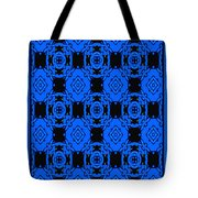 Little Blue Angels Abstract Tote Bag