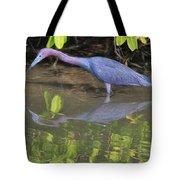 Little Blue Fishing Tote Bag
