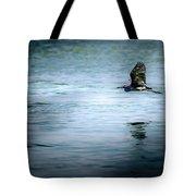 Little Blue Heron Tote Bag