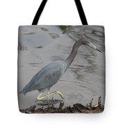 Little Blue Heron Walking Tote Bag