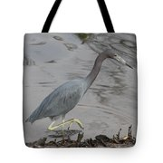 Little Blue Heron Walking Tote Bag