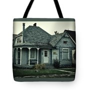 Little Blue House Tote Bag