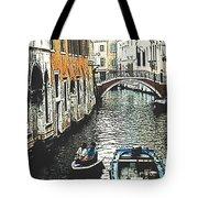 Little Boat In Venice Tote Bag
