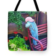 Little Boy  Tote Bag
